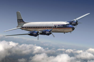 DC-6 Delta Airlines