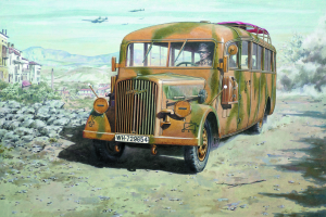 Opel Blitz Omnibus W39 (Late WWII service)