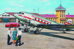 Douglas DC-3 Trans World Airlines, late 1930th
